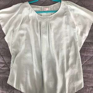 Mint Green 9-H15 STCL Anthropologie Top